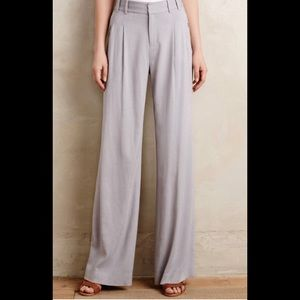 Anthropology Cartonnier gray long pants